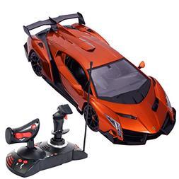 Goplus New 1/14 Radio Remote Control RC Car Lamborghini Vene