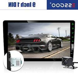 """1 Din 9"""" Car FM/USB/AUX MP5 Player Touch Screen Stereo Radio"""