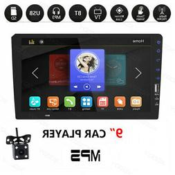 "1 Din 9"" Car FM/USB/AUX MP5 Player Touch Screen Stereo Radio"