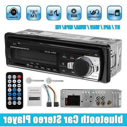 1 Din Car Stereo Audio Radio MP3 Player bluetooth FM/SD/TF U