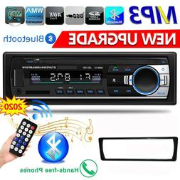 1 DIN Car Stereo Radio Bluetooth FM In Dash Handsfree TF/USB