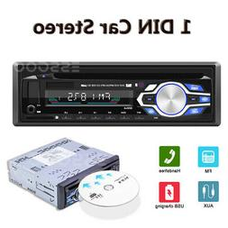 1 Din Car Stereo Radio Car DVD CD MP3 Player AUX/USB/FM/Hand