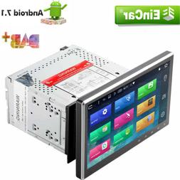 """10.1"""" Double 2DIN Car Android 7.1 Stereo Radio DVD Player 4G"""