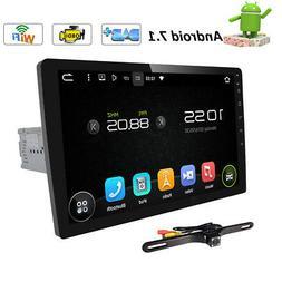 "10.1"" Single 1 DIN Car Android 7.1 Stereo Radio No-DVD Playe"