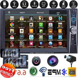 1080P Car DVD Player 2DIN In Dash Bluetooth +Radio Stereo+ R