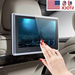 10in Car LCD Screen Video Monitor Headrest SD USB Radio DVD