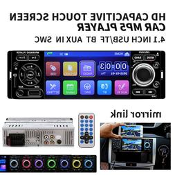 "4.1"" HD Single 1DIN JSD-3001 Car Stereo Video MP5 Player FM"