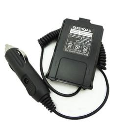12V Car Cigar Charger Battery Eliminator For UHF VHF Dual FM