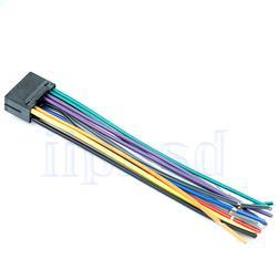 16 pin jvc car stereo radio wire wiring harness plug cabke t