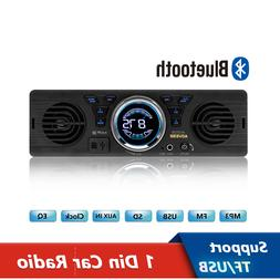 1Din Car Radio 12V Bluetooth 2.1+EDR Vehicle Electronics MP3