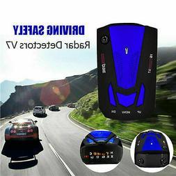 2.4G Car Vehicle Wireless GPS Laser V7 Radar Detector Voice