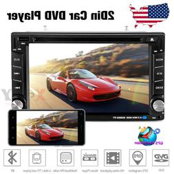 "6.2"" Car Stereo CD DVD Player SAT GPS Navigation Radio Touch"