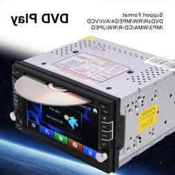 "2 DIN 6.2"" Car Stereo DVD CD Player GPS Navigation Radio BT"