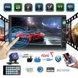 "2 DIN 7"" HD Car Stereo Radio MP5 FM Player AUX Android/IOS M"
