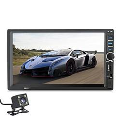 2 Din 7018B General Car Models 7'' inch LCD Touch Screen Car