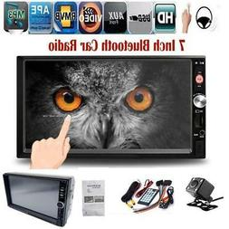 2 Din 7inch 7018B Touch Screen Car Stereo BT Radio FM USB AU
