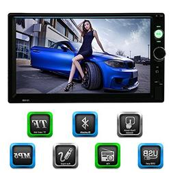 KKmoon 7 Inch 2 Din HD BT Car Radio MP5 Player & Receiver Mu
