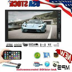 2 Din Car Models 7 inch LCD Screen Car Radio Bluetooth Playe