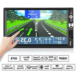 "2 Din Car Multimedia ,7"" Wireless Touch Screen Car Stereo MP"