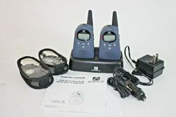 Audiovox 2-Way Radios FR1420A 2 Mile 14 Channel Pair With Ho