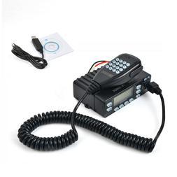 25W Transceiver Dual Band UHF/VHF Car Mobile 2-Way Ham Radio