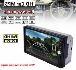 2DIN  Car Radio Stereo BT Touch Screen MP5 Player/USB/TF/AUX