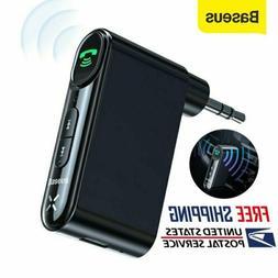 Baseus 3.5mm AUX Jack Wireless Bluetooth 5.0 Receiver Car Ki