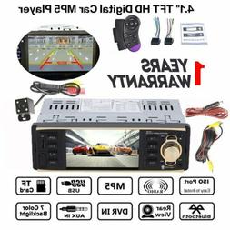 "4.1"" 1 Din Car Stereo Radio MP5 Player Bluetooth In Dash USB"