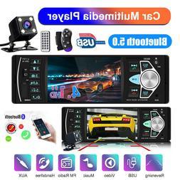 4.1 Car FM Bluetooth USB AUX Audio MP5 Player Radio Stereo 1