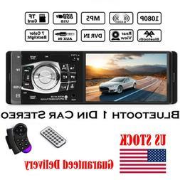 4.1'' Car Stereo Radio Bluetooth MP3/MP5 Player HD Screen FM