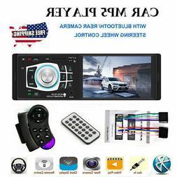 4.1 HD Single 1DIN Car Stereo Video MP5 Player Bluetooth FM