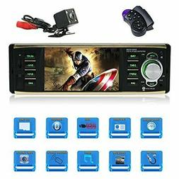 4.1 Inch Car stereo MP5 player Single Din Car stereo with bl
