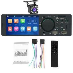 A 4.1 Inch Touch Screen Car Radio 1 Din Car Stereo MP5 Playe