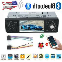 4.1'' Single 1 DIN Car Stereo MP5 MP3 Player Bluetooth FM Ra