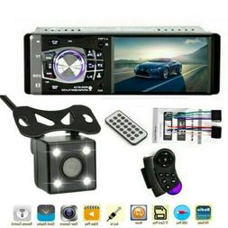 4.1'' Single 1DIN Car Stereo MP5 MP3 Player Wireless FM Radi