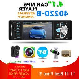 4022D <font><b>Car</b></font> Stereo MP5 Player Bluetooth US