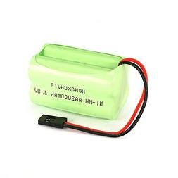 4S 4.8V AA 2000mAh NiMH Batteries Rechargeable Square Receiv