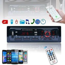 50W 4CH Bluetooth Car Stereo Audio FM Aux IN Receiver SD USB