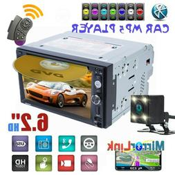 """6.2"""" 2 Din Car MP5 Player Stereo FM Radio Touch Screen Bluet"""