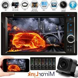 "6.2"" 2DIN Car Player Bluetooth MP3/Audio/Video/USB Rearview+"