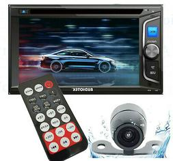 "6.2"" 2DIN Car Radio Stereo CD DVD Player Bluetooth Touchscre"
