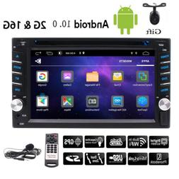 """6.2"""" Double 2Din Android 10.0 Car Radio Audio Stereo CD DVD"""