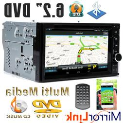 "6.2""inch 2 DIN Car CD DVD Player Bluetooth Stereo Radio HD M"