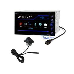 "Pioneer 6.2"" Touchscreen Double Din Car Radio MP3 DVD w/ Rea"