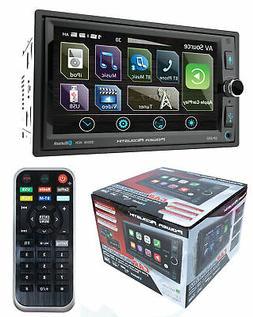 "6.5"" Bluetooth Radio AM/FM MP3 USB Apple Car Play Double Din"
