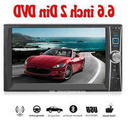 "6.6"" 1080 Video Car MP4 Radio TFT HD DVD Player Double 2DIN"