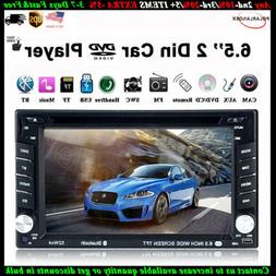 "6.8"" 2 DIN Car Radio DVD MP5 Stereo AM/FM Touch Screen Remot"