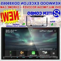 """KENWOOD 6.95"""" DVD MULTIMEDIA RECEIVER CARPLAY & ANDROID AUTO"""
