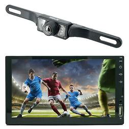 """7"""" 2 Din Touch Screen Car MP5 MP3 Player Bluetooth Stereo AM"""