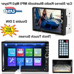 """7"""" 2DIN 7018B Car MP5 MP3 Player Bluetooth Touch Screen Ster"""